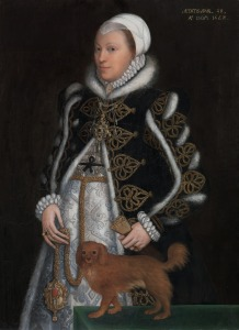 Unknown artist, Portrait of a woman, probably Catherine Carey Lady Knollys, 1562, Oil on panel, 108.6 x 79.4 cm, Image courtesy Yale Center for British Art, Paul Mellon Collection